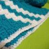 Μπλε παιδική κουβερτούλα