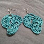Γαλάζια σκουλαρίκια